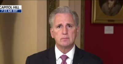 House Minority Leader, Kevin McCarthy disagrees with Rep. Marjorie Taylor Greene's impeachment articles against President Biden