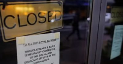 Jobless claims soar to record 3.3 million due to layoffs from CCP Virus pandemic