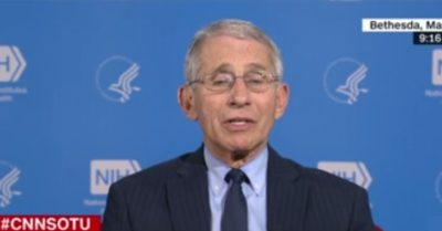 Dr. Fauci warns CCP Virus could kill 200,000 Americans