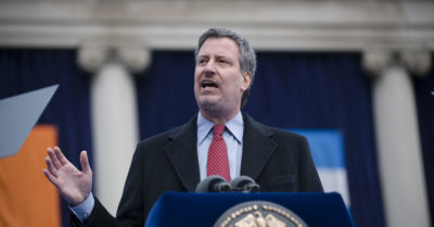 NYC mayor wants President Trump to help stop CCP Virus after rudely celebrating his move to Florida