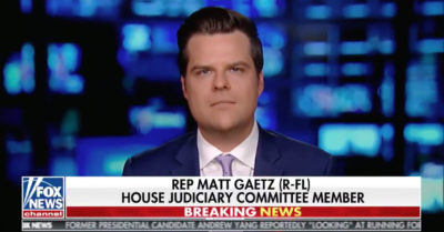 Matt Gaetz introduces the No CHINA Act to prevent Chinese Communist Party from accessing funds from stimulus package