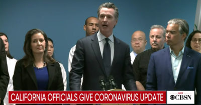 California placed in lockdown due to CCP Virus escalation