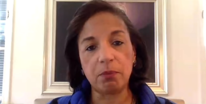 Susan Rice diverts attention from Chinese regime's responsibility for CCP Virus