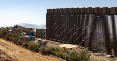 President Trump keeps '164 miles of promises' to build Mexico border wall with extra surveillance