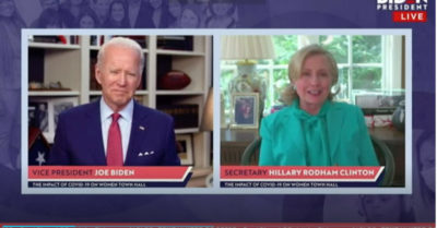 'Enabling a sexual predator': Tara Reade, who voted for Hillary Clinton, blasts her for endorsing Biden