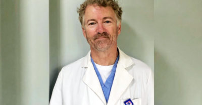 Republican Sen. Rand Paul cleared of CCP Virus after retesting yields negative result