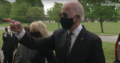 Joe Biden says President Trump is a 'fool' for mocking him wearing mask