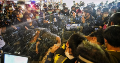 Violent treatment of protest detainees by Hong Kong authorities denounced