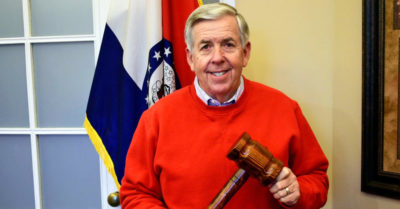 President Trump almost moved mountains in national response to CCP Virus says Missouri Gov. Parson