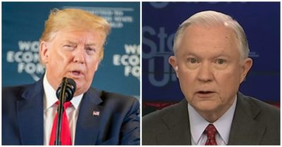 'You had no courage': President Trump says Sessions should drop out of Alabama Senate race