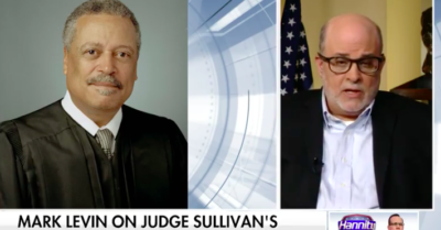 Mark Levin calls Judge Sullivan a rogue judge, and 'get the hell off' Flynn's case
