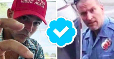 Twitter allows fake photo of Minnesota police officer wearing 'make whites great again' cap