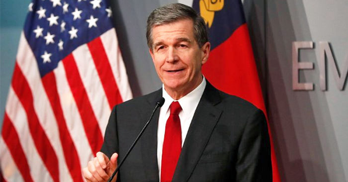North Carolina Gov Cooper refused to 'guarantee' venue for Republican Convention says President Trump