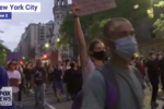 Wealthy youths arrested for violent protest in New York