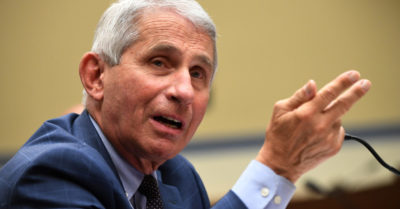 Public scientific estimates for herd immunity were altered according to polls, says Dr Fauci