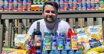 TV Producer Casey Harper raises $140,000 to donate Goya products to food banks