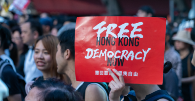 NBA prevents personalization of 'FreeHongKong' T-shirts in support of democracy