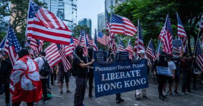 US and allies retaliate against Chinese Communist Party for threatening Hong Kong