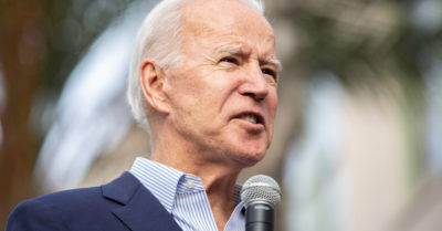 Joe Biden uses a quote from Mao Zedong during a fundraiser event
