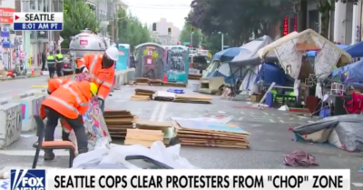 Mainstream media painted a carnival atmosphere of CHOP zone in Seattle, meanwhile police acted to clear the area after violence erupted