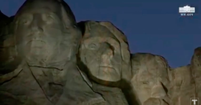 President Trump at Mount Rushmore for Fourth of July celebration: He defends and celebrates the founders