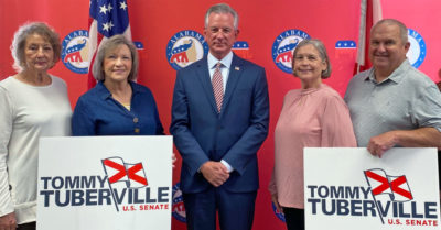 Candidate Tommy Tuberville beats former AG Jeff Sessions in Alabama Republican primary runoff