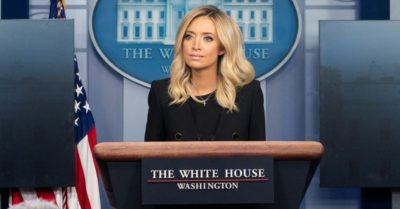 White House press secretary Kayleigh McEnany successfully recovers from CCP Virus