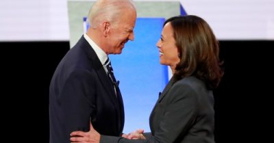 Kamala Harris, Democratic vice presidential candidate, supported the women who accused Joe Biden of harassment