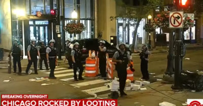 Riots, looting, and chaos in downtown Chicago: Over 100 arrests and 13 officers injured