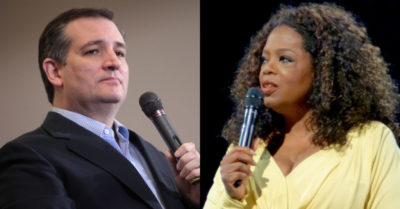 Sen. Ted Cruz calls Oprah Winfrey's comments 'racist'
