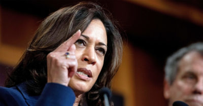 Kamala Harris joins Democrat senators calling for investigation into Durham's probe