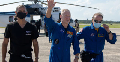 Historic: NASA returns 2 space astronauts in consortium with the private company