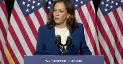 Kamala Harris blames President Trump for severe CCP Virus pandemic, his campaign hits back
