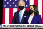 Biden condemns looters on one side and Harris pays bail on the other side