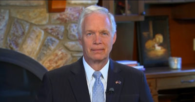 'They don't work with us in good faith': Sen. Ron Johnson criticizes the Democrats for preventing monetary aid to Americans
