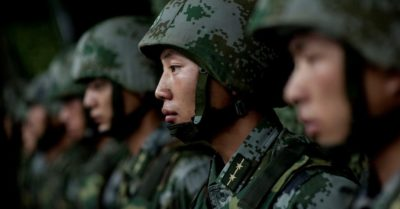 Satellite images show thousands of CCP troops in the areas of Tibet and Aksai Chin