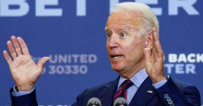 Biden takes advantage of the shooting of two deputies to insist on gun control