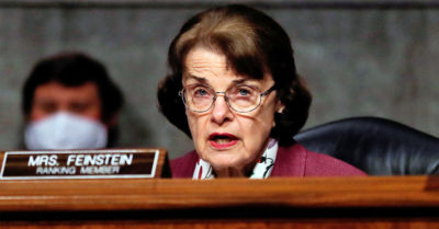 Democratic Sen. Dianne Feinstein busted for not wearing a face mask while inside Virginia airport