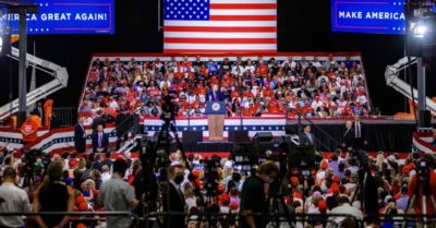 Nevada site fined $3,000 for letting President Trump hold indoor rally