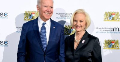 Biden thanks Cindy McCain for her endorsement, Trump says he 'hardly' knows her