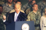 The controversial video of Democratic candidate Joe Biden addressing U.S. troops with derogatory name-calling