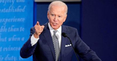 Democratic candidate Biden tells President Trump to 'shush' after hearing Nancy Pelosi should wear a face mask
