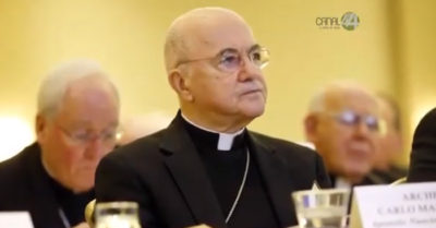 Archbishop Viganò: 'To win elections they [leftists] must always resort to deceit and fraud'