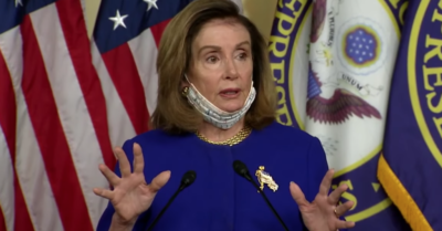 Pelosi claims Trump tramples on democracy, unveils bill to prevent presidential abuses