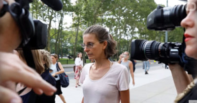 Heiress to the Seagram liquor fortune, Clare Bronfman, sentenced as a participant in the NXIVM sect
