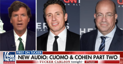 A filtered audio clip shows how Chris Cuomo rehearsed an interview with Cohen before conducting it