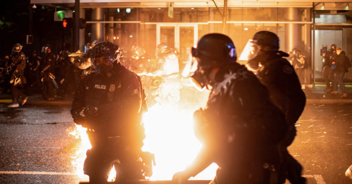 Fears pervades the United States about possible unrest during and post-election