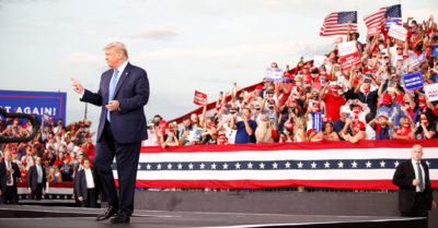 91% of Trump supporters would vote for the president again