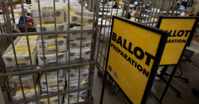 More undelivered mail-in ballots: They were in a Kentucky dumpster