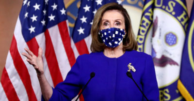 Nancy Pelosi refuses to answer questions about the corruption allegations against Biden